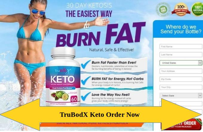 TruBodX Keto weight loss Pills