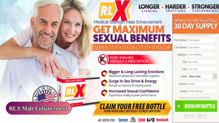 RLX Male Enhancement Pills Reviews