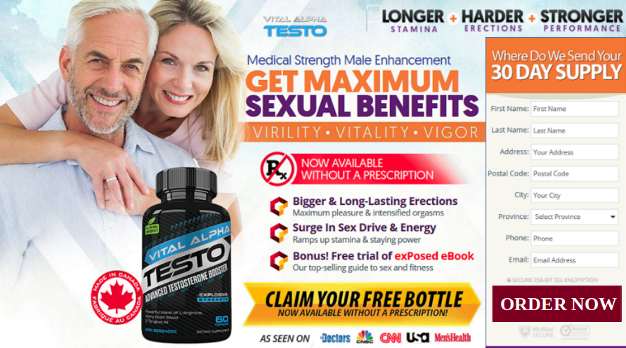 Vital Alpha Testo Supplement