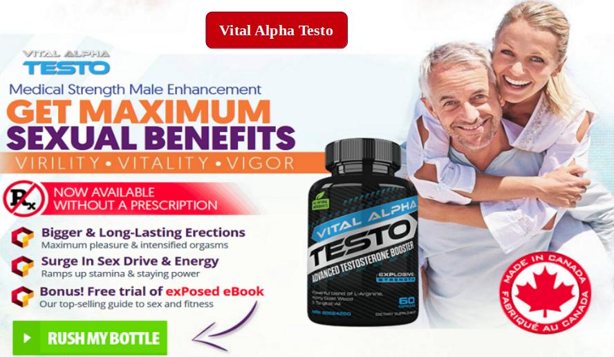 Vital Alpha Testo Pills