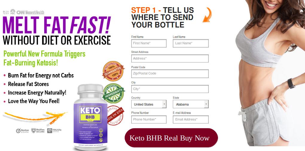 Keto BHB Real Fat Burner Supplement